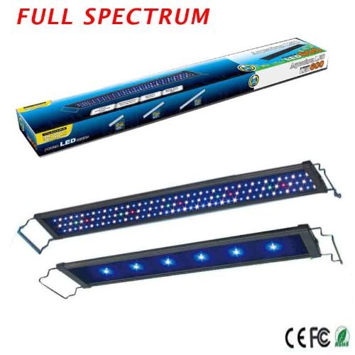 "36"" - 40"" Inch 78Pcs Actinic Rgb Aquarium Light Led Marine Reef Cichlid Fixture"