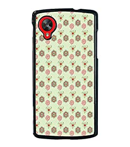 iFasho Animated Pattern design many small flowers Back Case Cover for LG Google Nexus 5