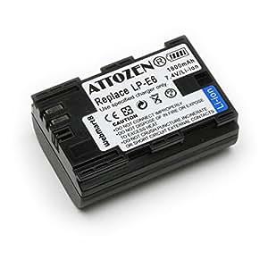 キヤノン LP-E6 互換バッテリー (新型EOS 70D, 6Dに対応) グレードAパーツ使用