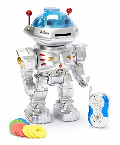 Team-RC-Radio-Remote-Controlled-RC-Dancing-Robot-w-RC-Missile-Disc-Launcher