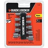 Black & Decker 71-080 Nutdriver Set, 10-Piece