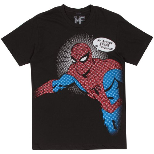 Mighty Fine Spider-Man Spidey Pop T-Shirt