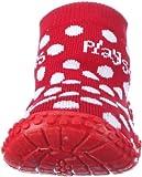 Playshoes Aqua-Socke Punkte 174803, Mädchen Dusch- & Badeschuhe, Rot (rot 8), EU 22/23 -
