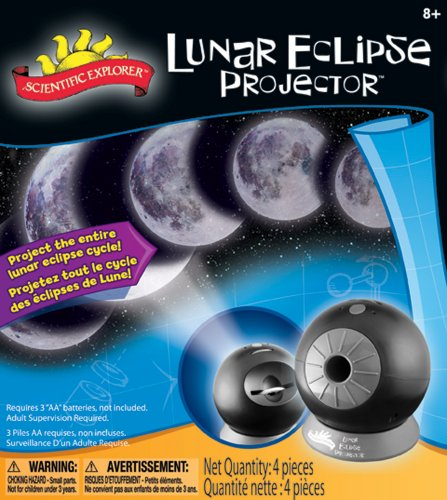 POOF-Slinky 06600BL Scientific Explorer Lunar Eclipse Projector with Moon Phase Dial and Timer for Wall or Ceiling Viewing
