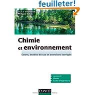 Chimie et environnement - Cours, études de cas et exercices corrigés