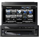Clarion VZ401 7-Inch In-Dash Single-Din Touchscreen DVD/CD/MP3/USB Receiver with Bluetooth