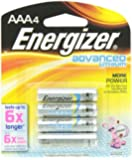 Energizer Advanced Lithium AAA Battery 4 Pack