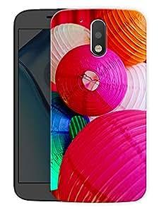 "Paper Lanterns CutePrinted Designer Mobile Back Cover For ""Motorola Moto G4"" (3D, Matte, Premium Quality Snap On Case)"