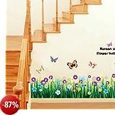 Rimovibile Adesivo Da Parete con Citazione Arte murale Home Room d š Š cor, vinile, Multi-coloured, 90 cm L X 60 cm W