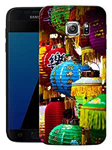 """Humor Gang Paper Lantern Pattern Printed Designer Mobile Back Cover For """"Samsung Galaxy S7"""" (3D, Matte, Premium Quality Snap On Case)"""