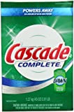 Cascade Complete All-In-1 Powder Dishwasher Detergent, Fresh Scent 45 Oz (Pack of 2)