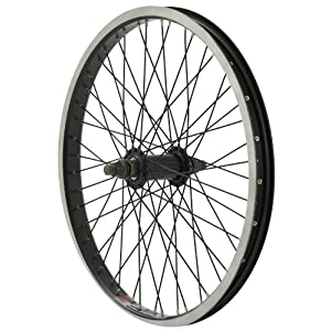 Diamondback 48H Sun ZX 25 Rim BMX 20 Inch x 1.75 Inch Black/Black Wheel (Front)
