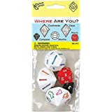 Koplow Games Inc. KOP17625 Where Are You Dice