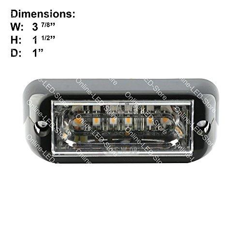 lamphus cosmicray crlh06 led strobe grille flashing lights. Black Bedroom Furniture Sets. Home Design Ideas