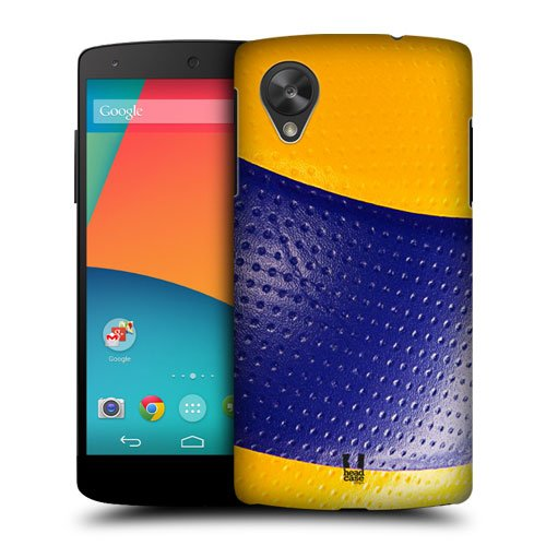 Head Case Designs Volleyball Ball Collection Protective Snap-on Hard Back Case Cover for LG Google Nexus 5 D820 D821