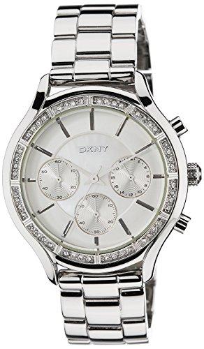 DKNY NY8251 - Orologio da polso, cinturino in acciaio inox colore argento