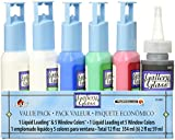 Gallery Glass Window Primary Color Paint Set with Leading, 15389