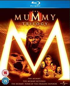 The Mummy 1, 2 & 3 Box Set [Blu-ray] [Region Free]