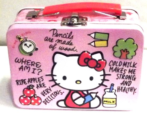 Hello Kitty Pencil Small Tin Box