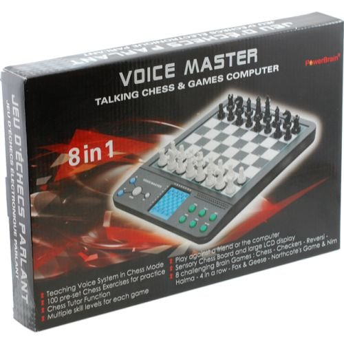 PowerBrain Voice Master - Talking Chess and Games Computer