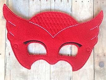 Amazon.com: Pj Masks Owlette Handmade Mask: Clothing