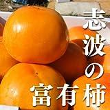【ブランド柿】福岡県産志波柿 M 約12個入り 約2.5kg【富有柿】