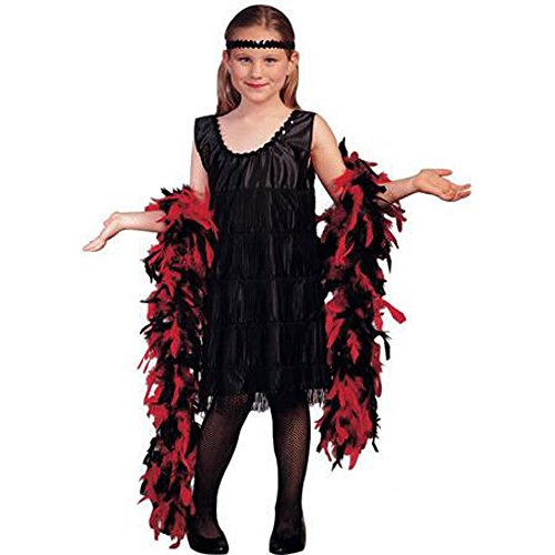 Child's Roaring 20s Flapper Costume (Sz:Small 4-6)