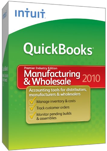 Quickbooks Premier Manufacturing & Wholesale 2010 [Old Version]