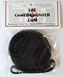 Center Pinch Lens Cap for CANON EOS 18-55mm Digital Rebel Camera Lens Replacement