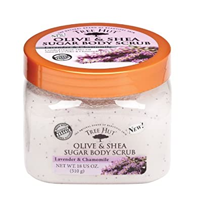 Cheapest Tree Hut Olive and Shea Sugar Body Scrub, Lavender and Chamomile, 18-Ounce from Naterra International Inc - Free Shipping Available