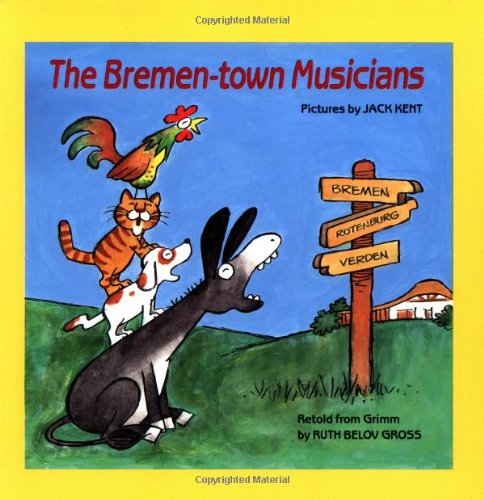 The Bremen Town Musicians (Easy-to-Read Folktales)