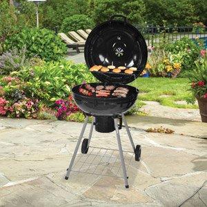 Amazon.com: Backyard 22.5 Inch Kettle Charcoal Grill ...