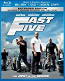 51gQ6cLQ93L. SL160  Fast Five (Two Disc Blu ray/DVD Combo + Digital Copy in Blu ray Packaging)