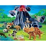 "PLAYMOBIL� 4170 - Triceratops mit Baby und Vulkanvon ""PLAYMOBIL"""