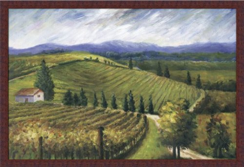 Tuscan Fields By Marie Frederique French Country Landscape