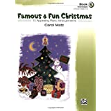 Famous & Fun Christmas, Book 5 (Intermediate): 16 Appealing Piano Arrangements