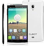 CUBOT X6 - OCTA CORE SMARTPHONE DUAL SIM TELEFONO CELLULARE HD IPS DISPLAY 16G ROM 8.0MP OTG GPS WIFI IN OFFERTA, BIANCO