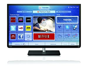 Toshiba 32W4333DB 32-inch HD Ready Smart LED TV - 2013