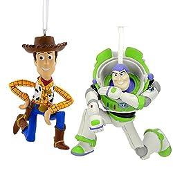 Hallmark Disney/Pixar Toy Story Buzz Lightyear and Woody...
