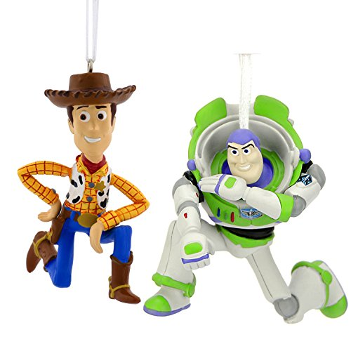 Toy Story Holidays : Hallmark disney pixar toy story buzz lightyear and woody