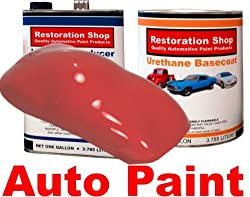 Corvette Monza Red URETHANE BASECOAT Car Auto Paint Kit