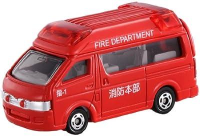 トミカ テコロジートミカ TT-02 トヨタ ハイエース 消防指揮車