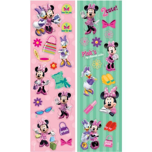 Minnie Mouse 8 Strips Stickers