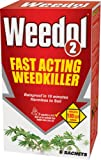 Weedol 2 Granular Concentrate Weedkiller, 1 Pack with 6 Sachets