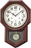 SEIKO CLOCK (セイコークロック) 掛け時計 チャイム&ストライク 電波時計 ツイン・パ RQ205B