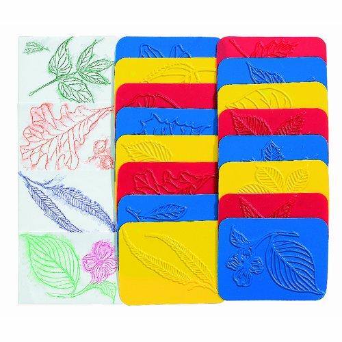 Children's Leaf Rubbing Plates