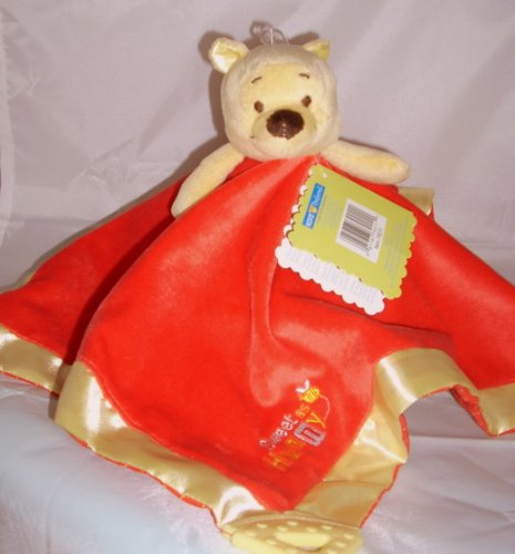 Winnie The Pooh Lovey Blankie front-87143