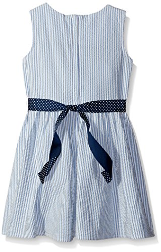Scout-Ro-Girls-Sleeveless-Seersucker-Dress-With-Bow