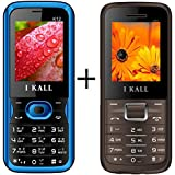 I KALL (K12Blue+K88Brown) Set Of Two Mobile Combo