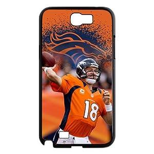 NFL 2013 Regular Season The Opening Match Winner Denver Broncos QB Peyton Manning Magnificent SEVEN TDs Unique Durable HARD Plastic Samsung Galaxy Note 2 N7100 Case